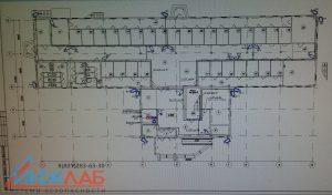 Схема монтажа систем видеонаблюдения